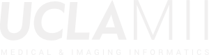 UCLA - Medical & Imaging Informatics Logo White